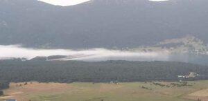 Une attaque de nuages sur Matemale