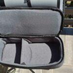 la petite sacoche de rangement dans le sac à dos