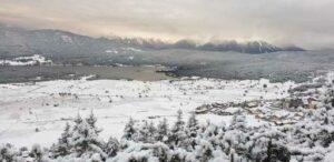 Deuxième chute de neige